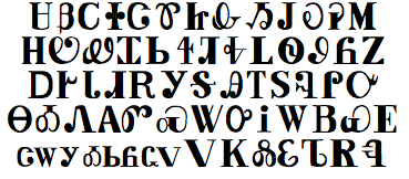 knowing that i was a bit of a typography geek sean asked if i could do anything to help he was working on a book of cherokee verbs and was not looking